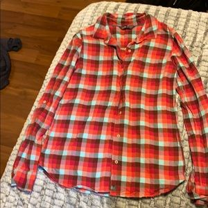 The North Face flannel